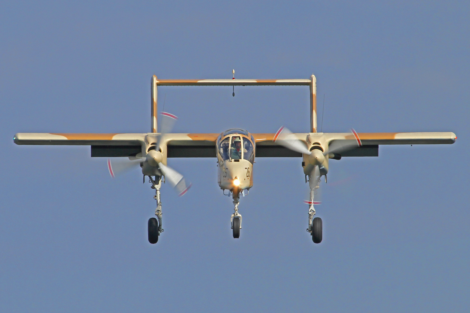 Landeanflug Rockwell OV-10 Bronco