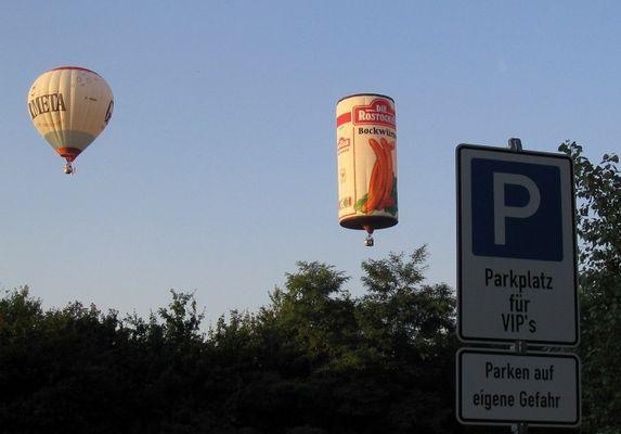 Landeplatz fuer Bockwuerste?