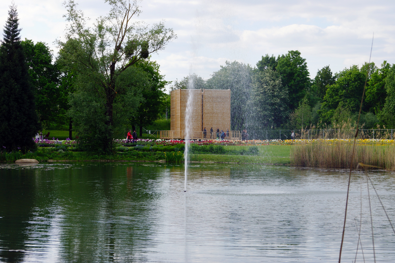 Landesgartenschau in Deggendorf - Stadthallenpark -