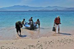 Landgang- Insel Lembata/ Indonesien