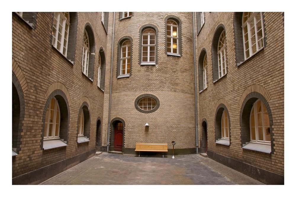 Landgericht Berlin MItte - Innenhof