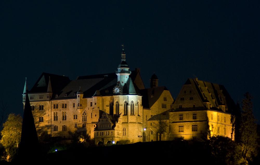 Landgrafen Schloss bei Nacht
