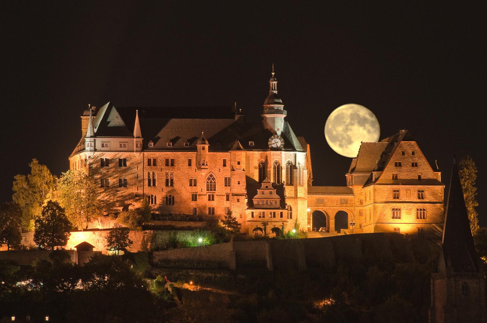 Landgrafen Schloss Marburg