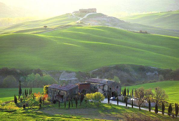 Landgut in der Toscana