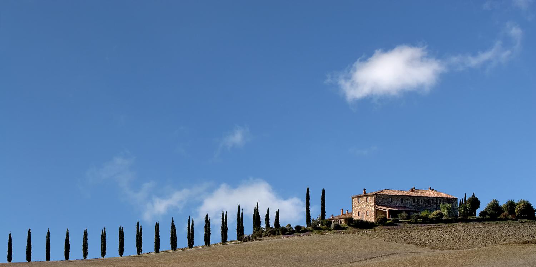 Landhaus in der Crete Senesi -Toskana