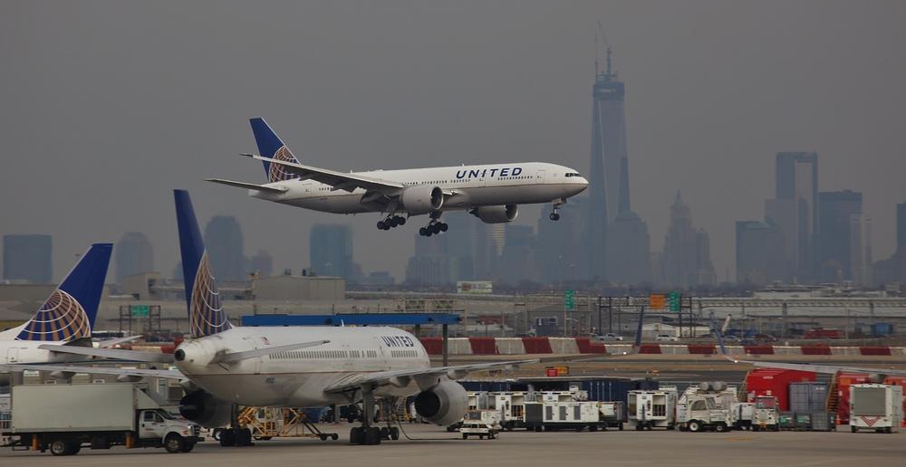 Landing at Newark