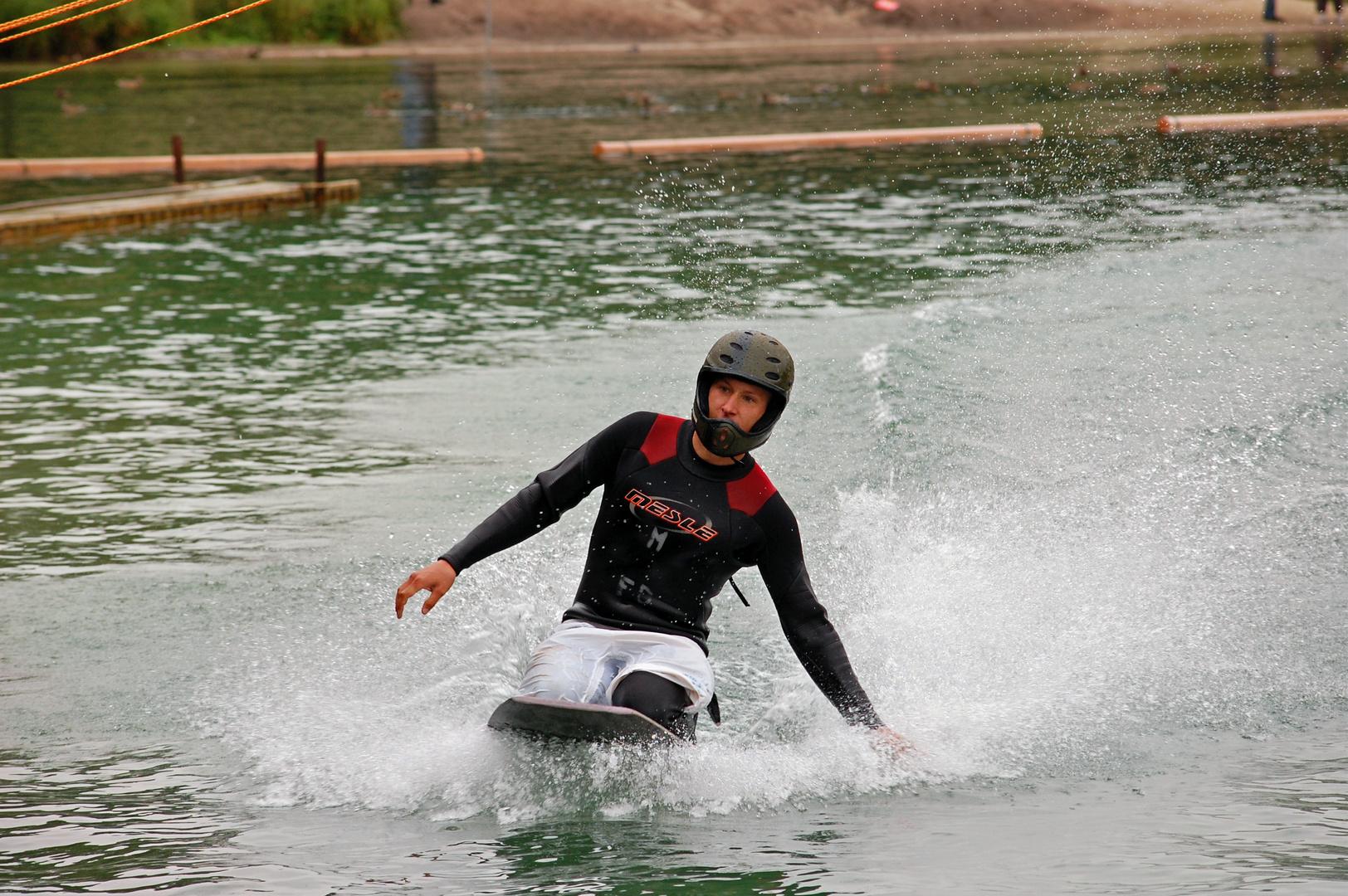 Landing Wakeboard