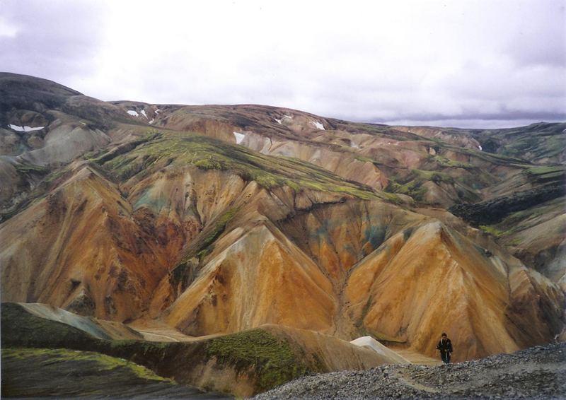 Landmannalaugar (Ascendiendo al Blahnukur)