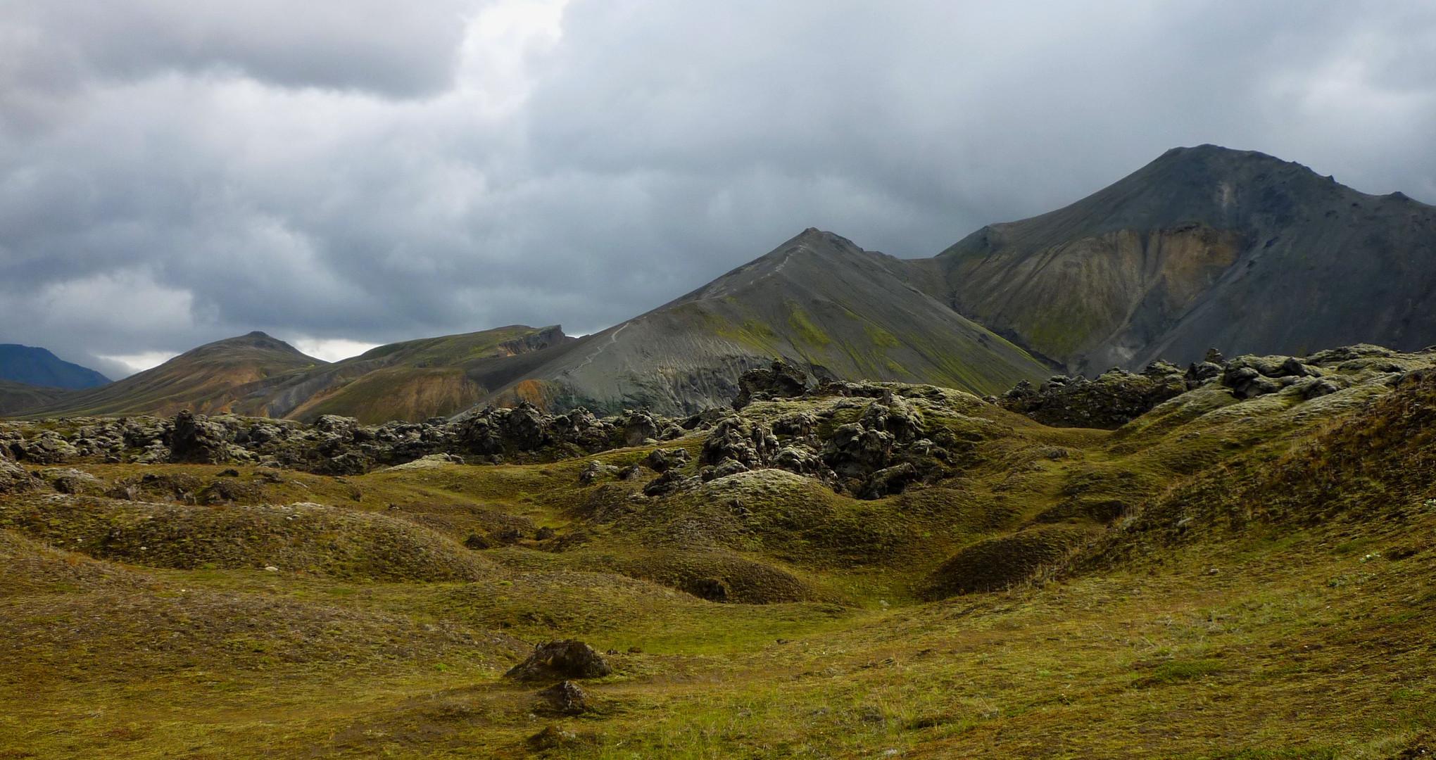 landmannalaugar landscape