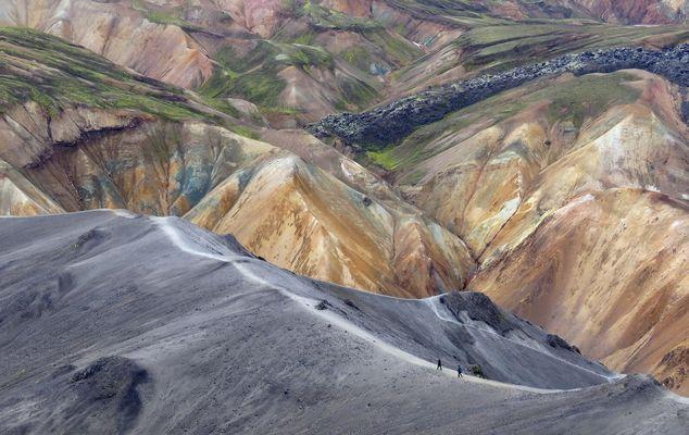 Landmannalaugar 's grandeur