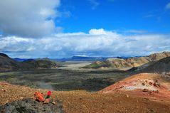 Landmannalaugar - Wanderung zum Vulkan Brennisteinsalda