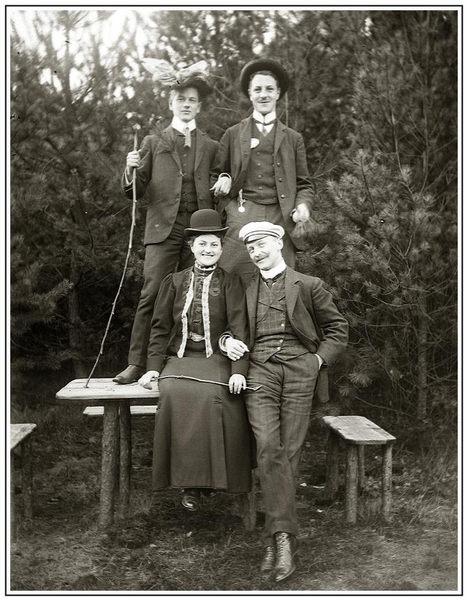 Landpartie 1914
