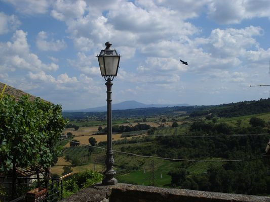landscape of Castiglione