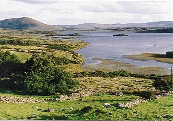 Landscape of Connemara