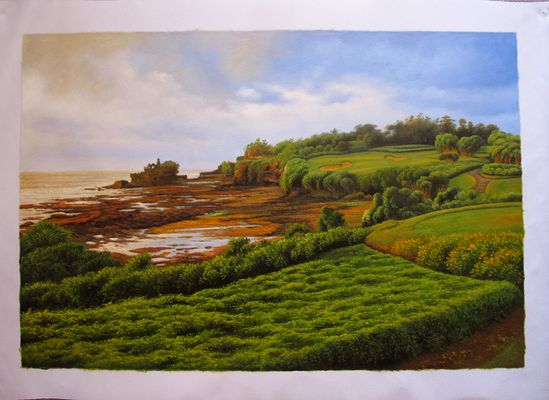 Landscape Oil Painting from Photo