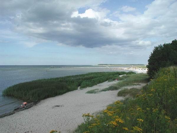 Landschaft an der Küste