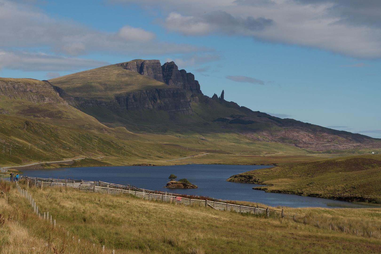 Landschaft auf Skye ( Schottland )