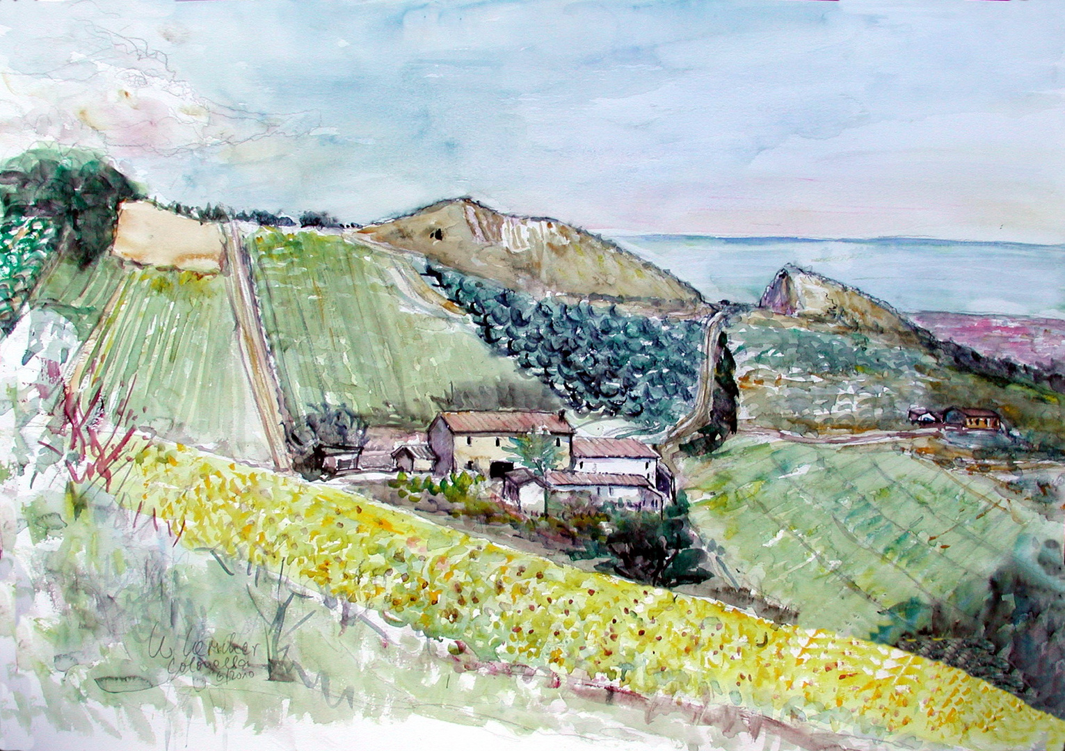 Landschaft bei Colonnella - Abruzzen
