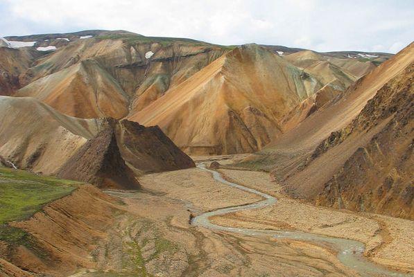 Landschaft bei Landmannalaugar