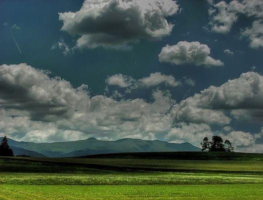 Landschaft bei Zeutschach