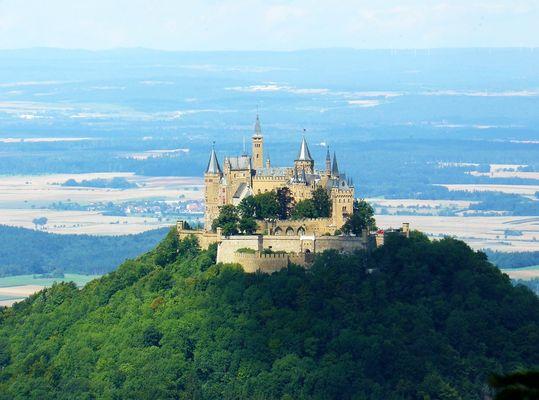 Landschaft Burg Hohenzollern ( 0710/2008 )