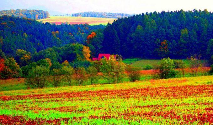 Landschaft - einmal anders gesehen