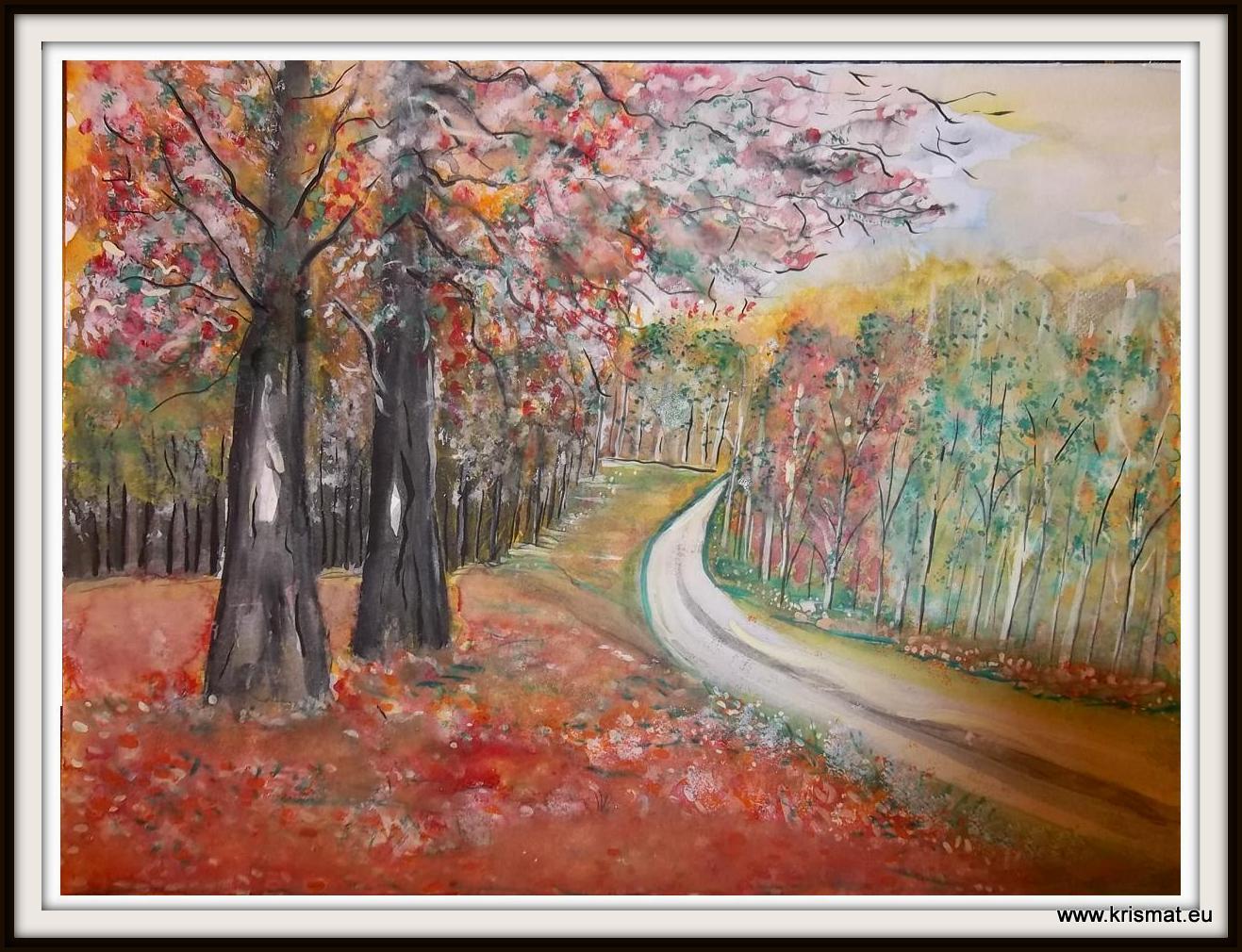 Landschaft Herbst