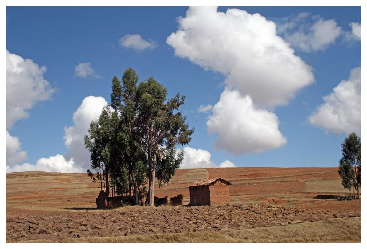 Landschaft hinter Cuzco (Richtung Chinchero)