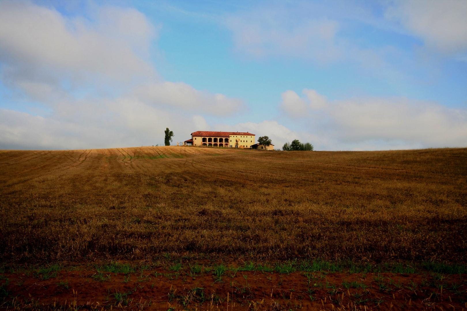 Landschaft im Piemont