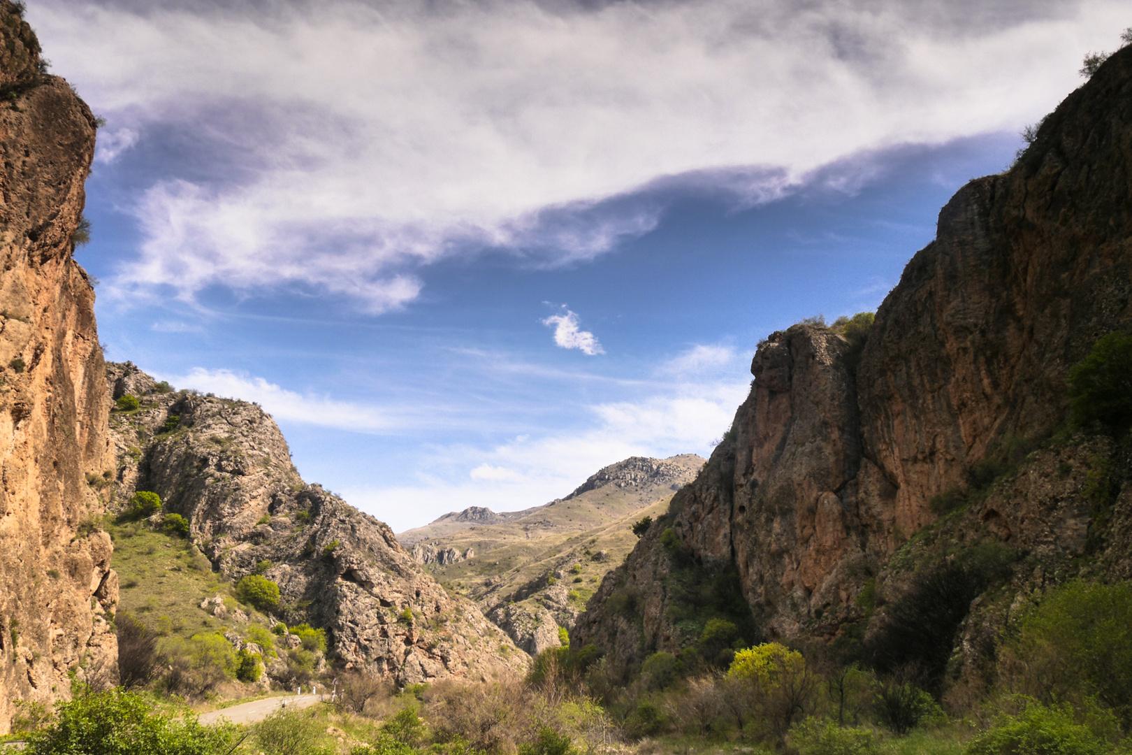 Landschaft in Armenien