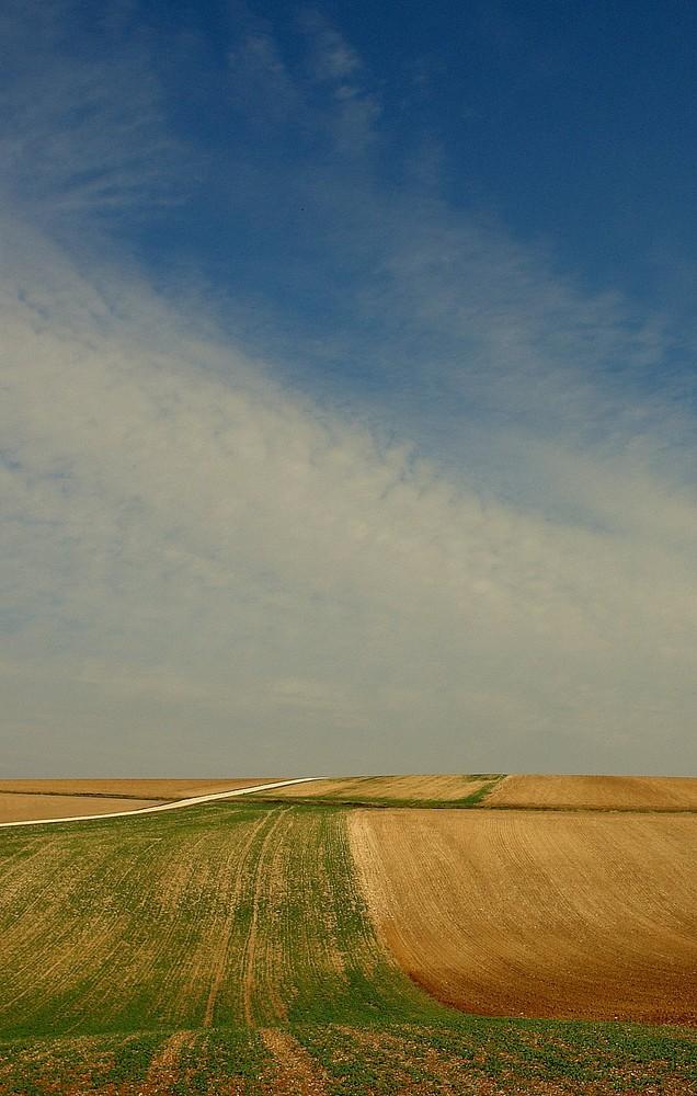 Landschaft in Burgund.....