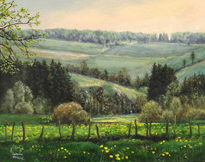Landschaft in der Eifel (Gemälde)