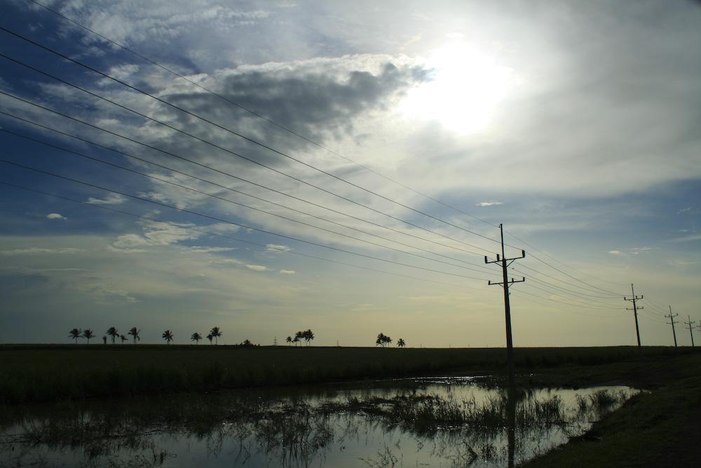 Landschaft in der Nähe von Guanajay