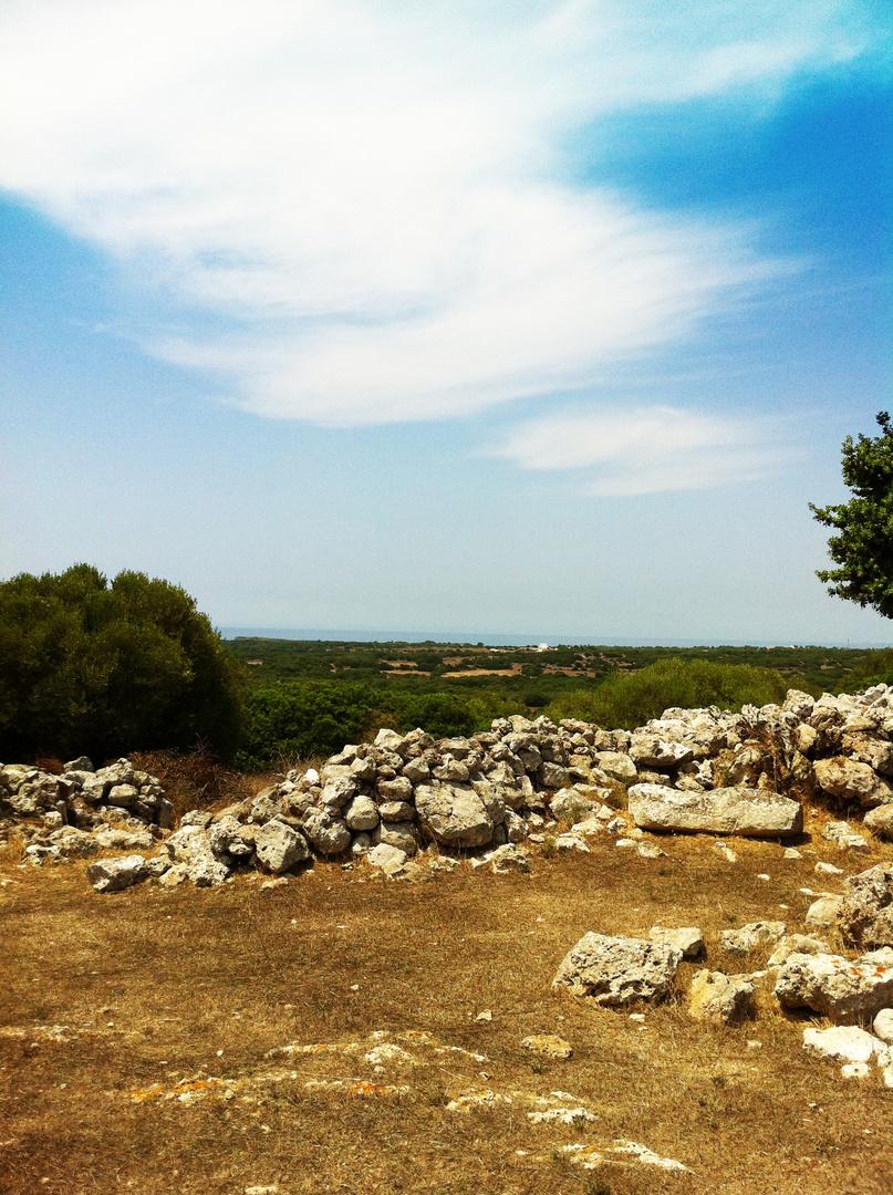 Landschaft in Menorca