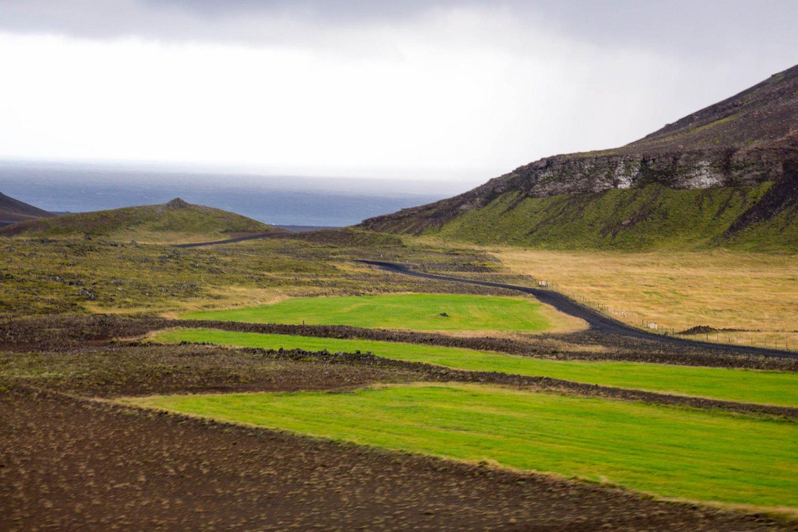 Landschaft in Süd-Island