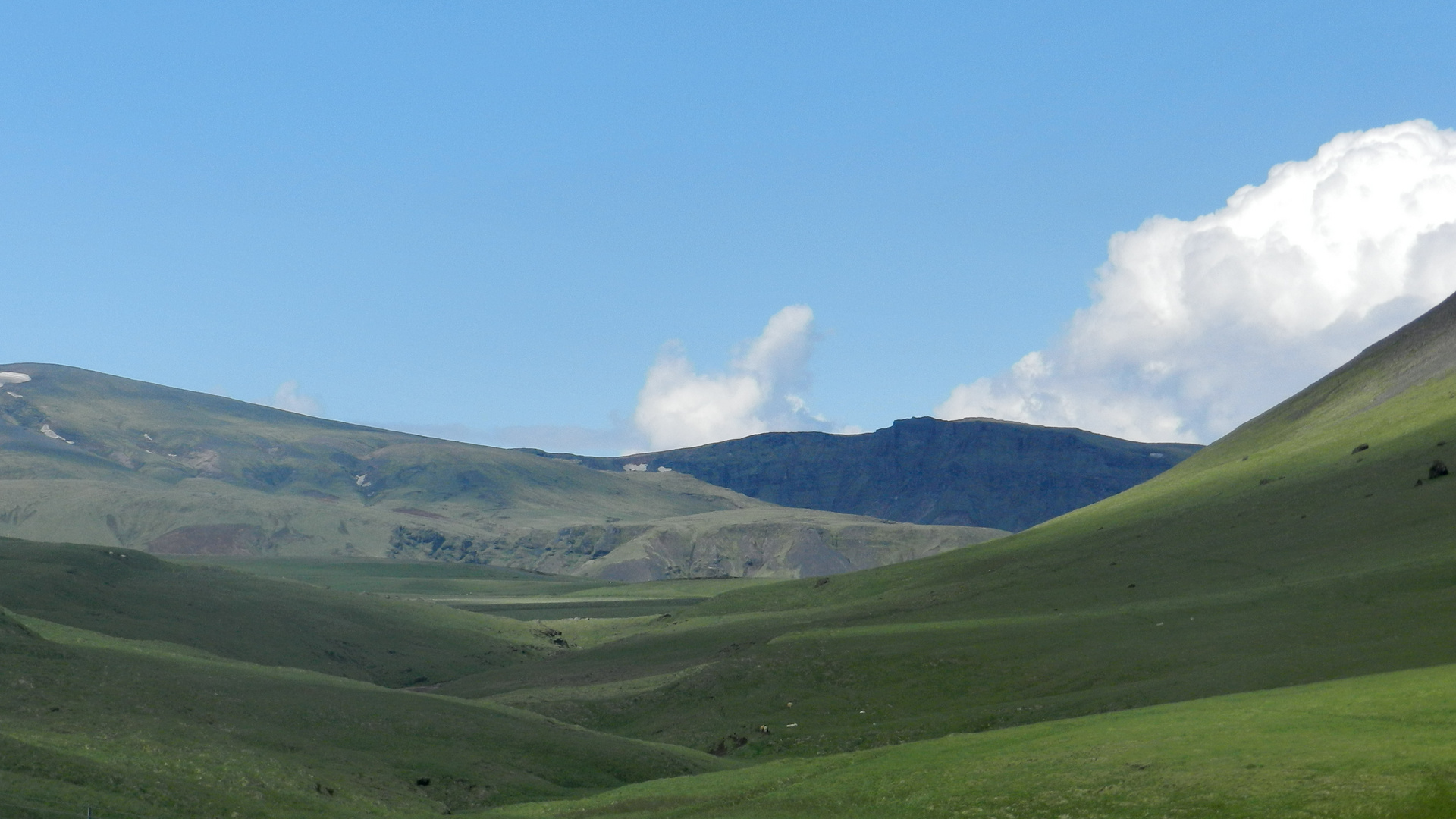 Landschaft in Südisland