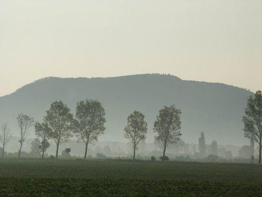 Landschaft irgendwo in Ungarn