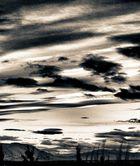 landschaft mit wolken ..
