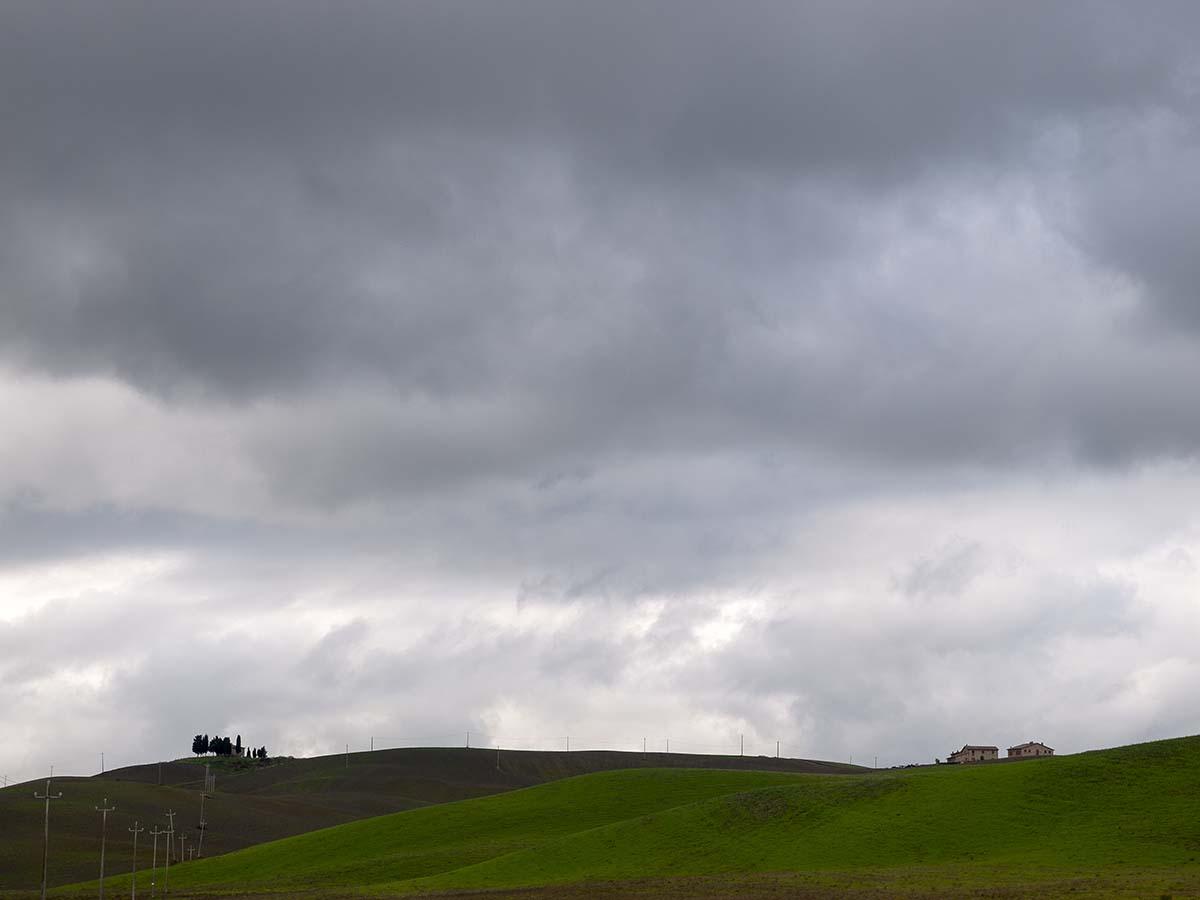 Landschaft nah bei Volterra