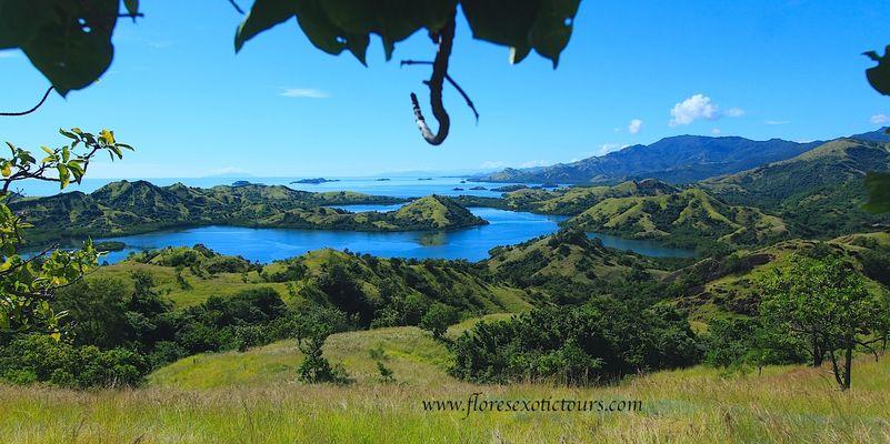 Landschaft Riung Marine Park - Flores