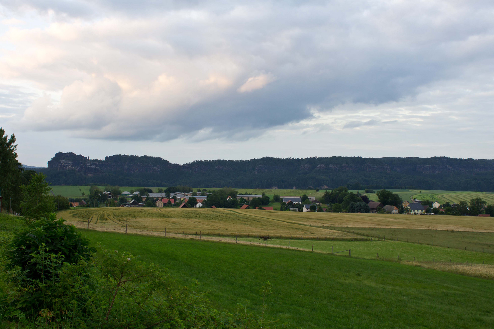 Landschaft Sächsische-Schweiz 1
