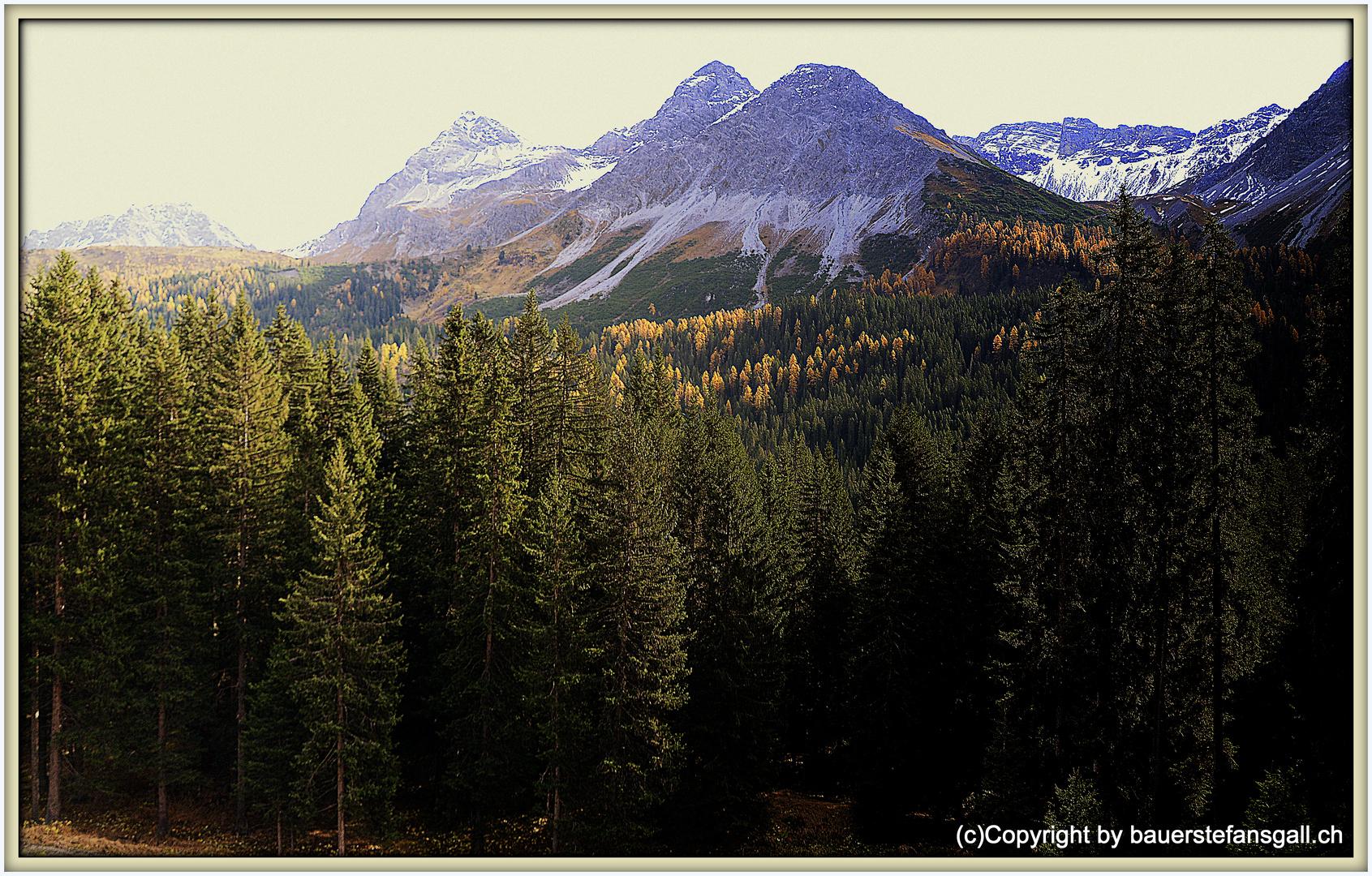 Landschaft um Arosa III;GR;CH