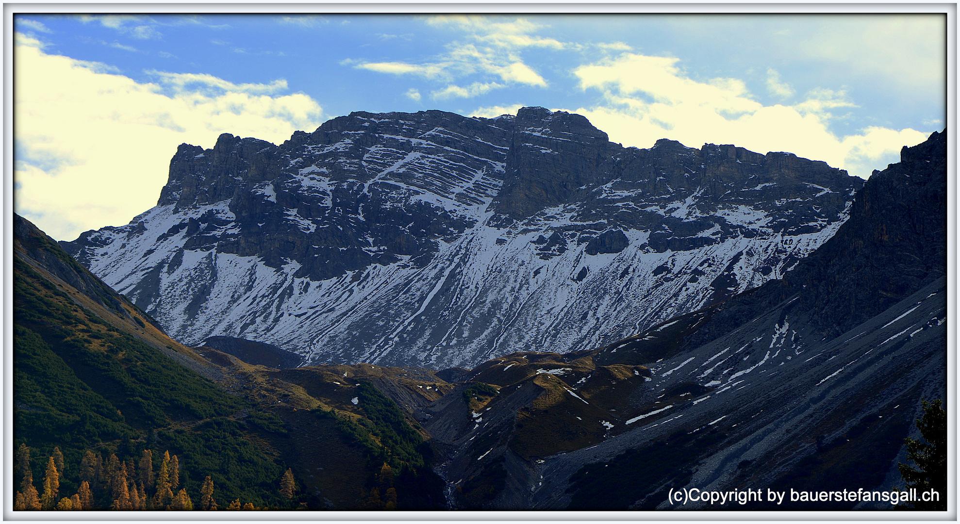 Landschaft um Arosa;GR;CH