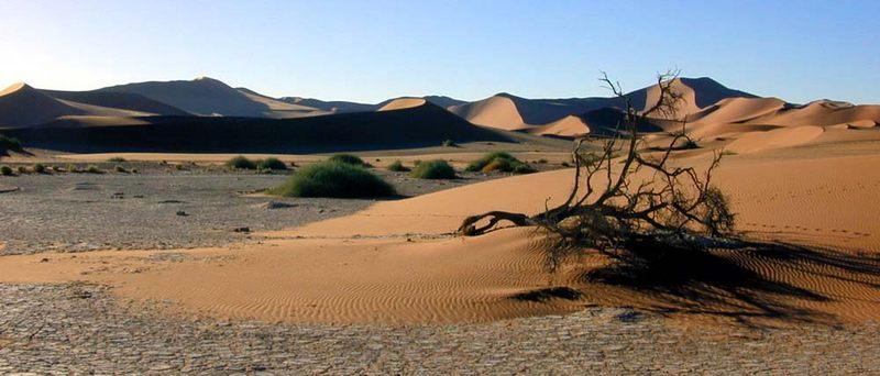 Landschaft um Sossusvlei, Namibia
