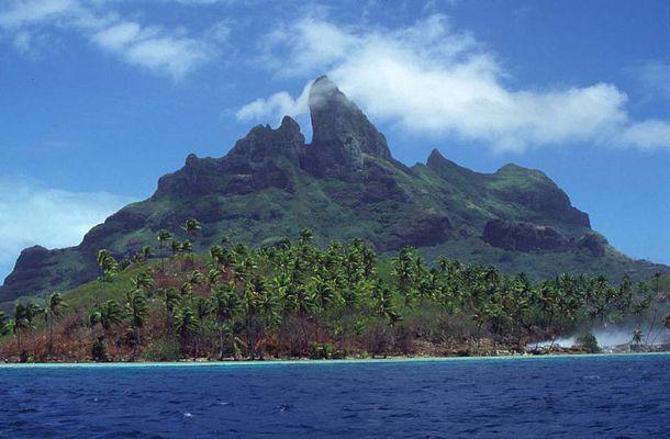 Landschaften der Insel Moorea (Französisch Polynesien)