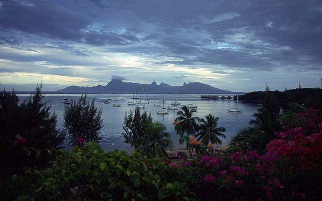 Landschaften der Insel Tahiti