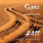 Landschaften und Wegweiser als Kalender 2011