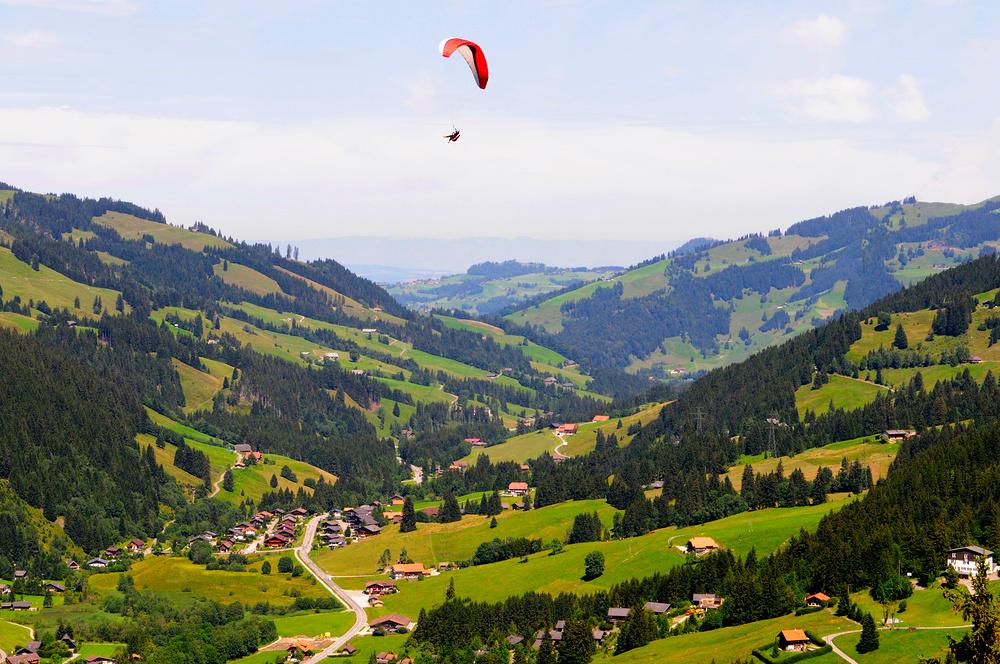 Landschaftsaufnahme bei Schwazsee