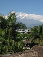 Landschaftsaufnahme in Pokhara