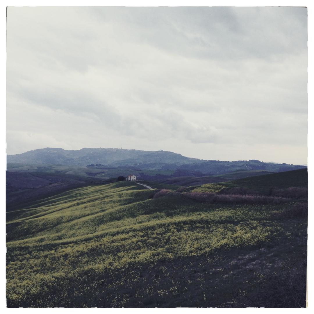 Landschaftsbild Volterra